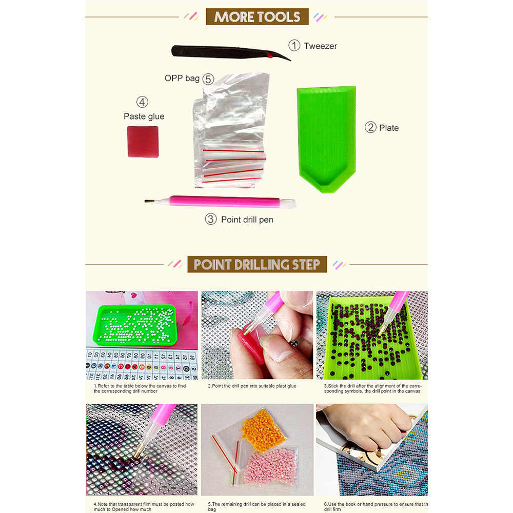Pieno Quadrato/rotondo FAI DA TE Disegni e schemi per puntocroce gufo 5D di Diamante Del Ricamo animale Mosaico Cucito homee decorazione M758