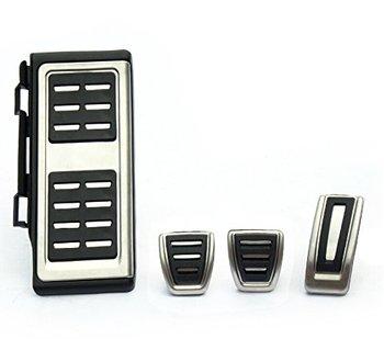 XYIVYG стайлинга автомобилей Нержавеющаясталь автомобиля ноги топлива тормозной отдых сцепления MT Педали заглушка для гольфа 7 GTi MK7 LHD