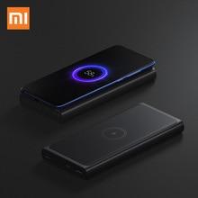 Powerbank xiaomi 10000mAh szybka ładowarka bezprzewodowa z rodzaj usb C do telefonu komórkowego szybkie ładowanie dla iPhone 11 pro Huaiwei mate 30