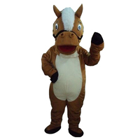 Horse mascot costumes free shipping for sale anime carnival costume Halloween Dress kids party free shipping