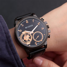 Blaus Masculino Jam Tangan Pria Migeer High-End Fashion Stainless Steel Arloji Sex Kol Saati Analog Alloy QUARTZ Jam(China)