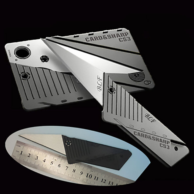 Third-Generation Credit Card  Folding Knife Tool Free Shipping