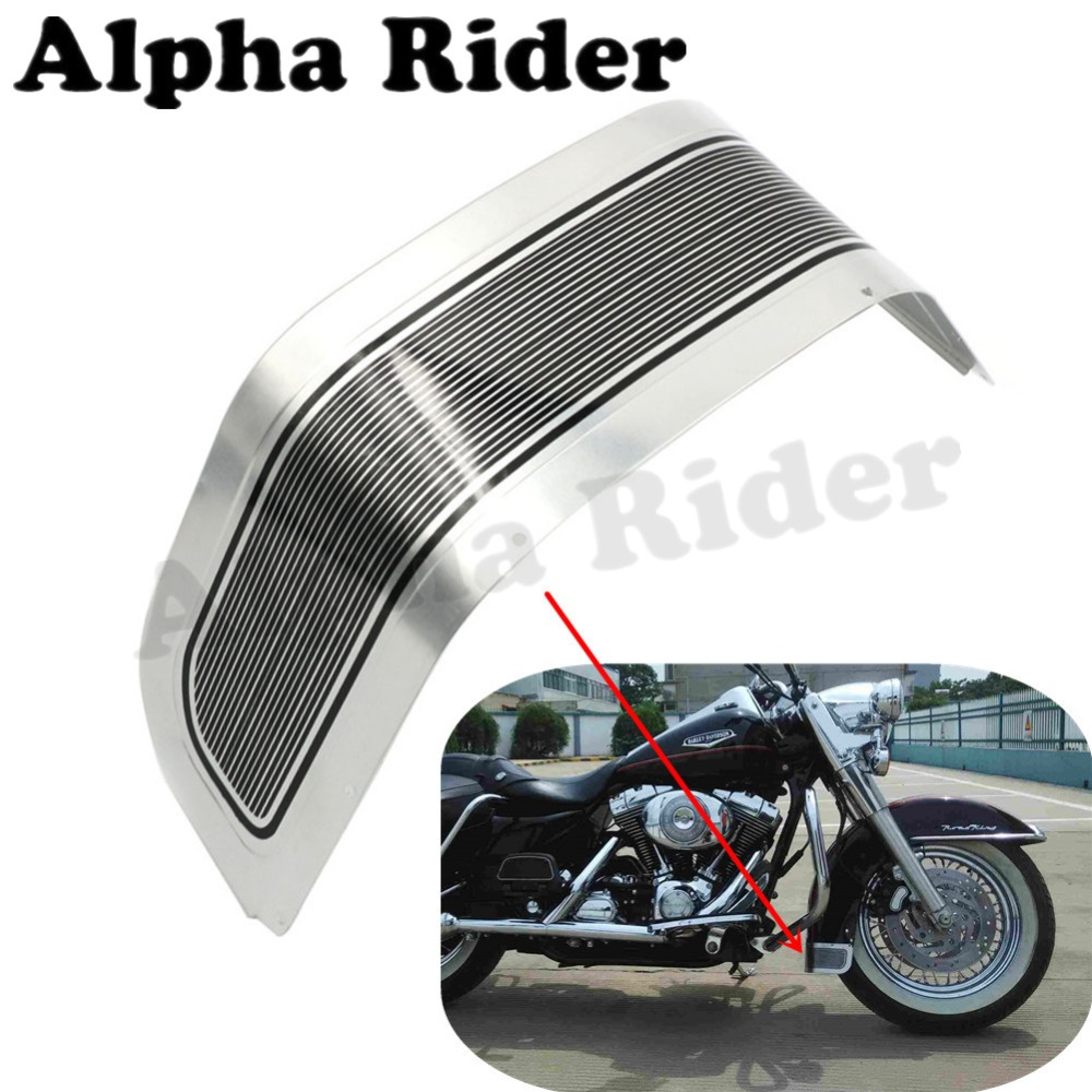 Front Fender Trim Skirt Mudguard Extension for Harley Touring FLHR FLHX FLHS FLTC Electra Street Tri Tour Glide Road King 80-13