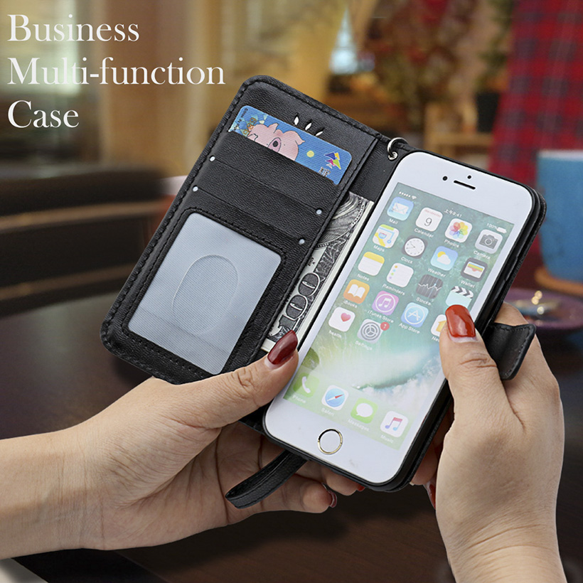 TaryTan PU Leather Phone Cases For Samsung Galaxy Trend Plus GT S7580/Trend Duos GT S7562 S7560 GT-S7562L Covers Flip Bag Back