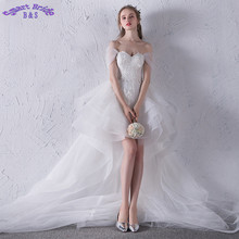 Smart Bride Lace Wedding Dresses Sweetheart Bride Dress
