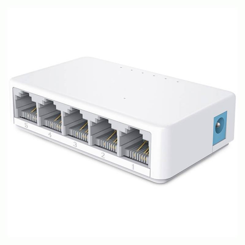 S105C Mini 5 Port 10 100Mbps LAN Hub Desktop Ethernet Network Switch