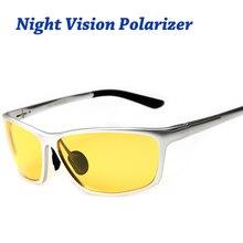 Ночное видение Очки для фар Поляризованные Вождения Солнцезащитные очки для женщин Желтые линзы UV400 защита ночного очки для водителей