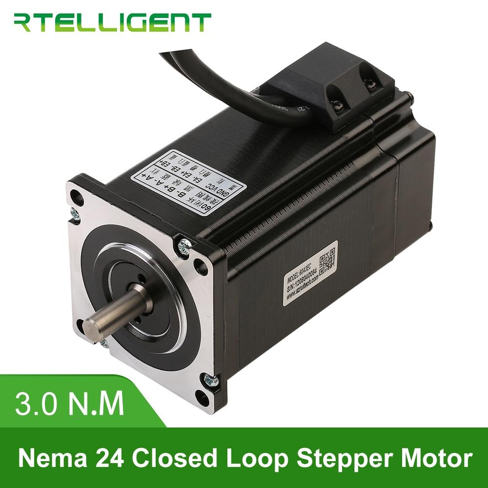 Rtelligent Nema 23 24 60A3EC 3 0N M 5 0A 2 Phase Hybird CNC Closed Loop