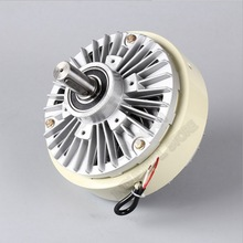 Double Shaft  Magnetic Powder Clutch 12Nm 1.2kg DC 24V Dual 2Axis  Winding Brake for Tension Control Bag Printing Dyeing Machine