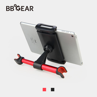 Car Phone Holder 360 Rotation Tablet Stand Holder Car Rear Pillow Mount 4-6 Inch Tablet PC Phone Bracket for iPhone iPad Samsung