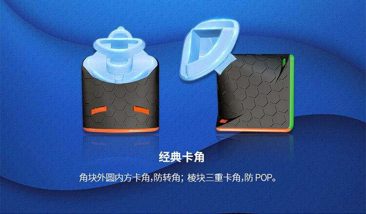 Venda quente original gan356 r 3x3x3 cubo