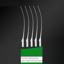 인스턴트 접착제, cyanoacrylate 접착제, 슈퍼 접착제, 빠른 건조 접착제에 대한 100 개/몫 CA 접착제 익스텐더 정밀 애플리케이터 팁