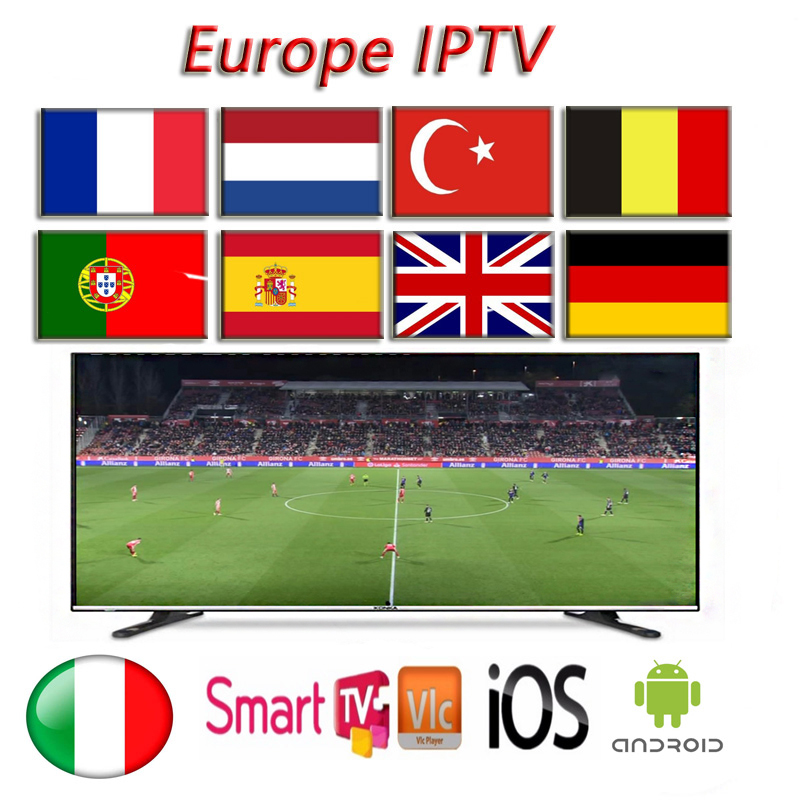 IPTV Subscription France Germany Spain Portugal Italy UK Work Rocksat Android Ios Pc