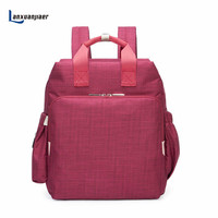 Lanxuanjiaer Diaper Bag Fashion Mummy Maternity Nappy Bag Baby Travel Backpack Diaper Organizer Nursing Bag For