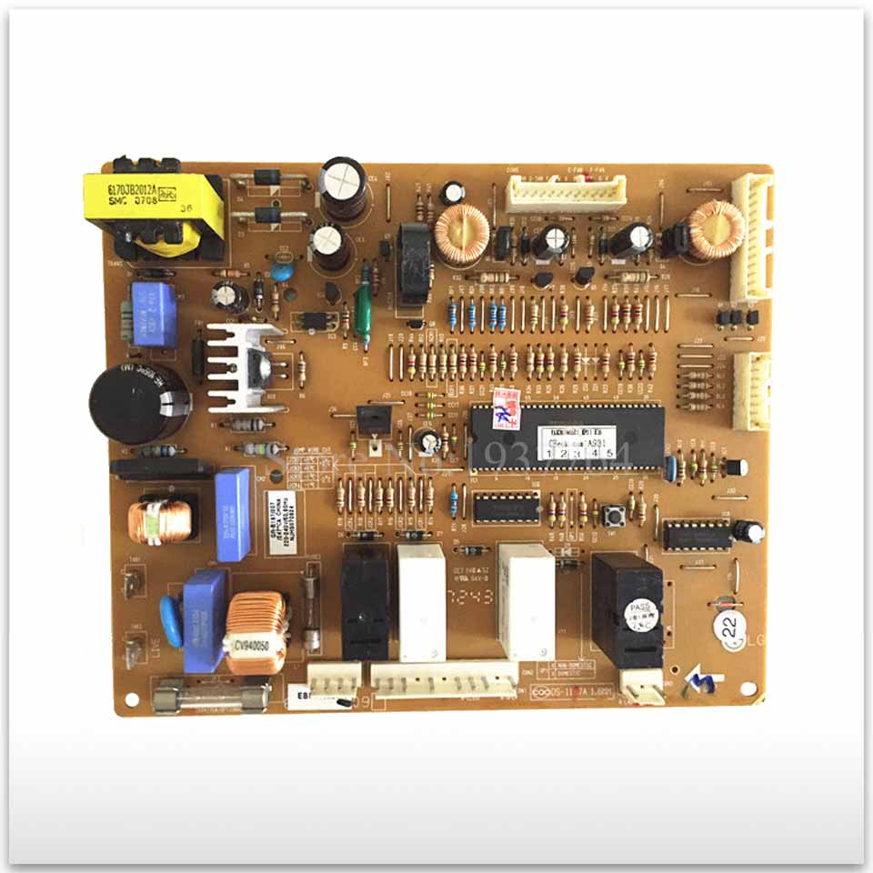95% new for LG refrigerator computer board circuit board GR-B197/207 6870JB8007A EBR39592410 board good working good working used board for refrigerator computer board power module da41 00482j board