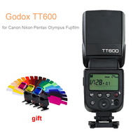 Godox TT600 2.4G Wireless GN60 Master/Slave Camera Flash Speedlite for Canon Nikon Pentax Olympus Fujifilm DSLR