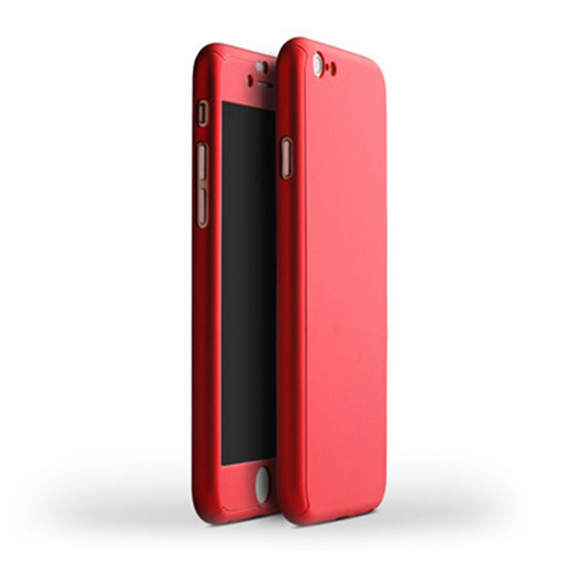 iphone 8 plus full body case with tempered glass