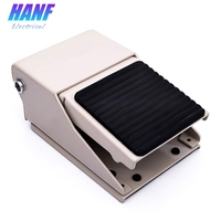 1pcs Metal Foot Pedal Switch Air Pneumatic Valve 2 position 3 way in out