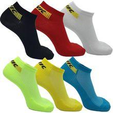 Новые летние короткие уличные спортивные носки, велосипедные носки, мужские и женские носки-лодочки для бега, велосипедные короткие носки