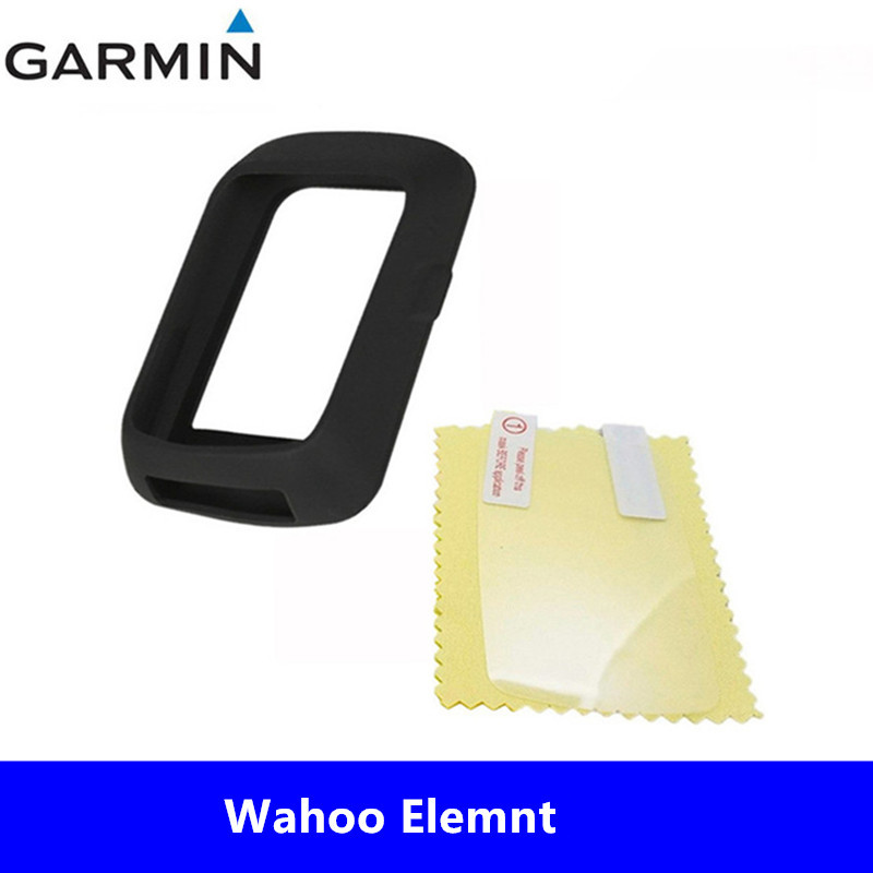 Screen Protector For Wahoo Elemnt Bolt GPS Bike PC Silicone Case Cover