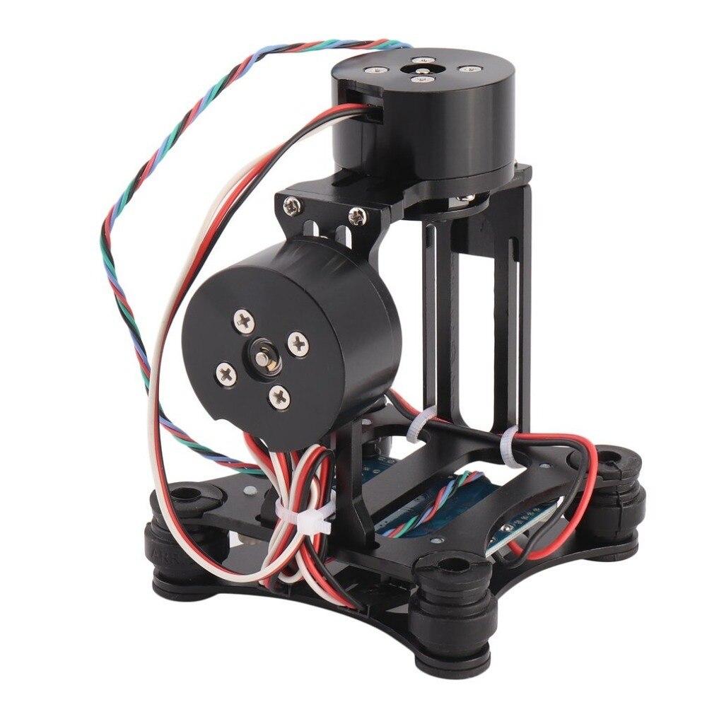 цена на CNC Aluminum Alloy Structure Light Weight Brushless Gimbal Camera Motor Controller PTZ For DJI Phantom For Gopro 3 FPV