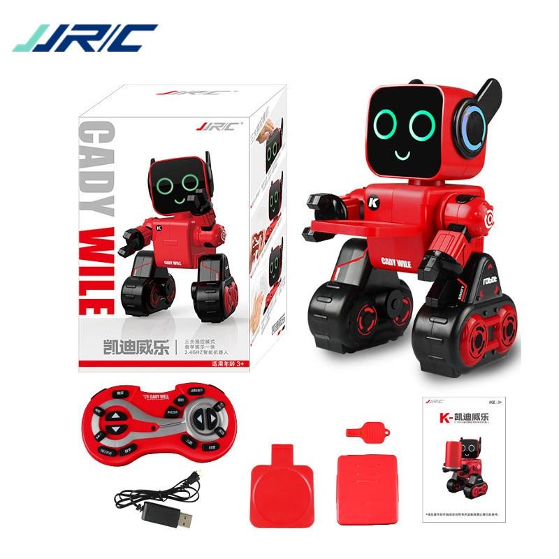 New Arrival JJRC R4 Cady Wile Gesture Control Robot Toys Money Management Magic Sound Interaction RC Robot VS R2 R3 WLToys jjrc r3 rc robot toys intelligent programming dancing gesture sensor control for children kids f22483 f22483