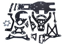 Baja upgrade parts,Carbon Fiber Package set fit HPI KM ROVAN BAJA 5B 5T 5SC KING MOTOR TRUCK Free shipping  85237