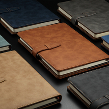 RuiZe Cuadernos de cuero para oficina B5, planificador diario, Agenda 2020, cuaderno de tapa dura A5, Bloc de notas de negocios vintage, cubierta de libro de notas
