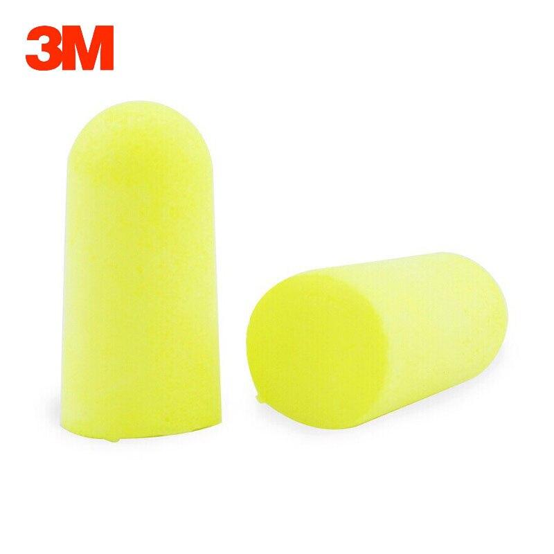 3M 312-1250 Earplugs Professional Noise Reduction Silencer Anti-noise Learning Sleeping Ear protector Soft Slow rebound Earplug (10)