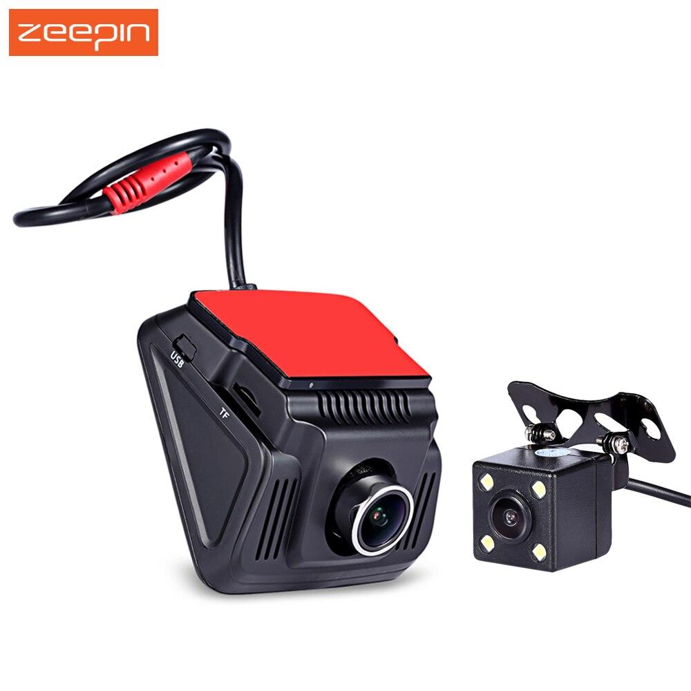 RM - WF0813 2.4 inch WiFi Car DVR Cam Ambarella 1080P HD Dash Camera Driving Recorder with Mounting Adhesive Rear view Camera