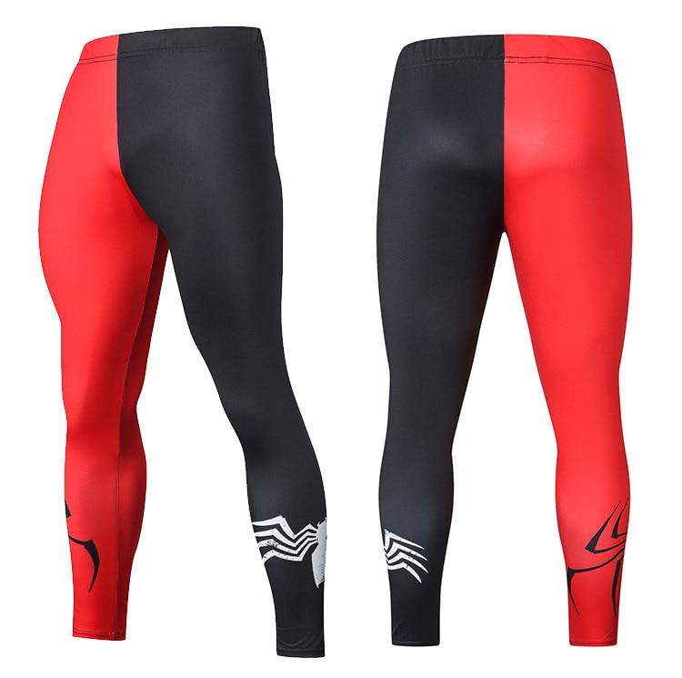 2019 Compression Pants Running Tights Men Training Pants Fitness Streetwear Leggings Men Gym Jogging Trousers Sportswear Pants 35