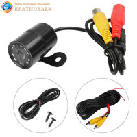 Universal PC1030 420TVL Night Vision Car Front View Camera 120 Degree Wide Angle Waterproof Auto