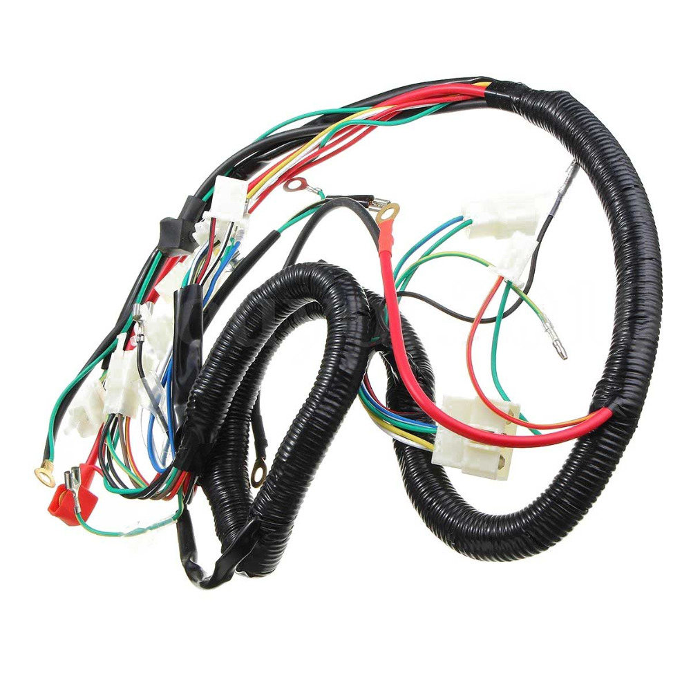 New Set Universal Wiring Harness For 150 250cc Quad Bike ATV Parts-in  Motorcycle Switches from Automobiles & Motorcycles on Aliexpress.com |  Alibaba Group