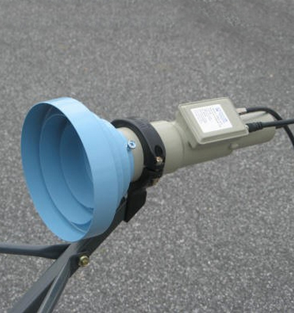 C Band Conical Scalar Ring Feedhorn with LNB Holder for Offset Dish