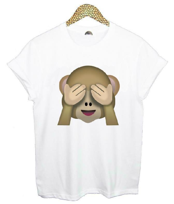 HTB1JvyiHVXXXXczXXXXq6xXFXXX1 - Emoji Smile Women T Shirt
