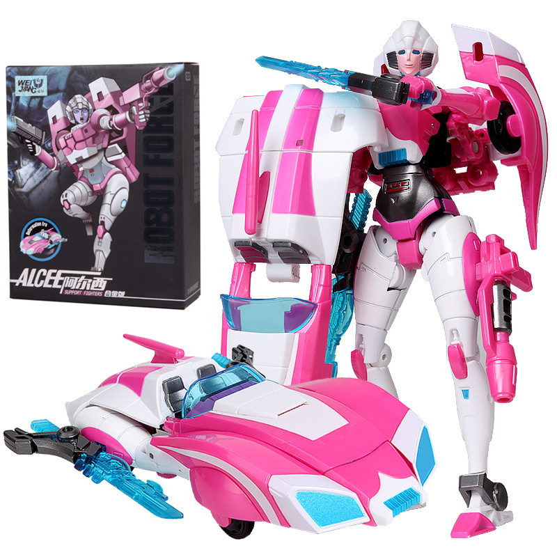 Original Box Arcee Transformation toys Plastic ABS + Alloy Action Figure Robot Car Model Classic Kids Toy Female Collection Gift viruses cell transformation and cancer 5