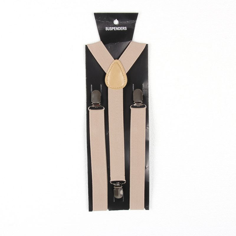 Child Boy Girl Toddler Clip-on Suspenders Y-Back Elastic Adjustable Braces 7-15T
