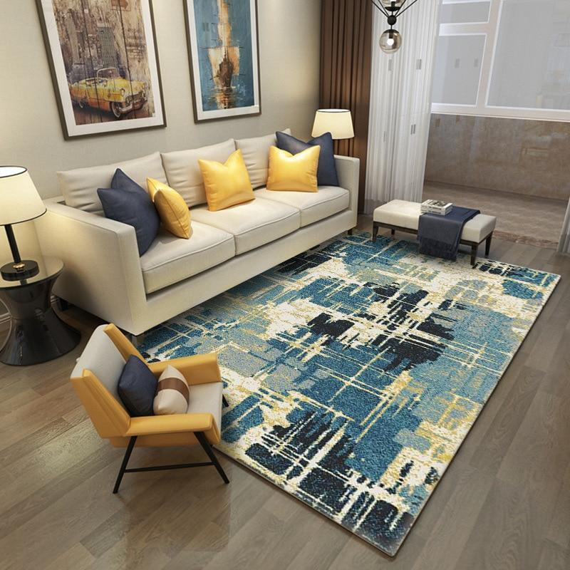 Modern Simple Nordic Geometric Home Carpet For Living Room
