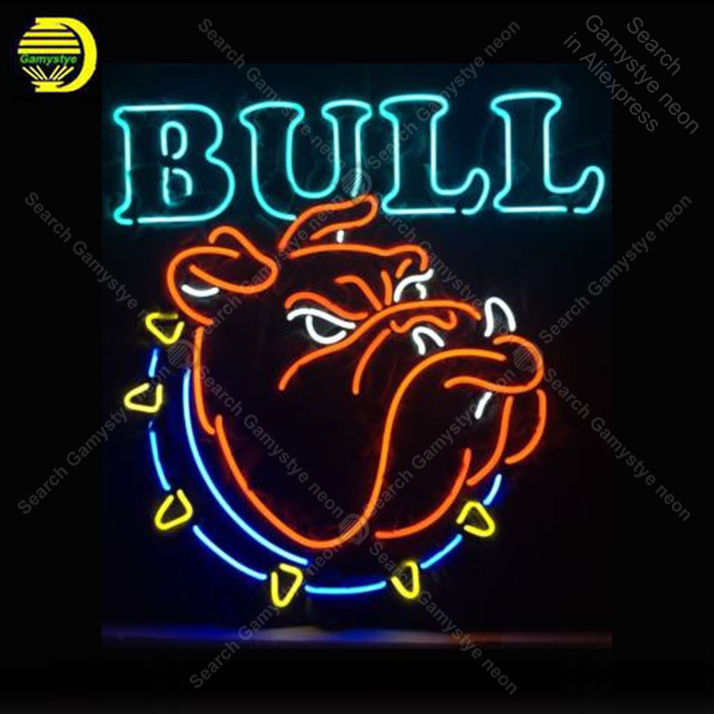 <font><b>Lasvegas</b></font> Open Gift Light Vintage Handmad Store Neon Sign Bull Handcraft Publicidad anuncio luminoso Light Advertisement Dropship image