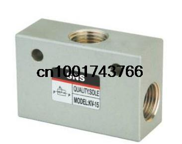 Pneumatic Shuttle Valve 3/4'' BSPT Air Port  Air  Valve KV-20    air compressing valve antonelli пиджак