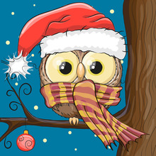 Diamond Painting Owl Christmas Cartoon Picture Beads Full Square Embroidery Crystal Child Hobby