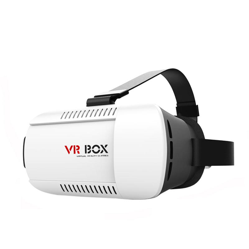 HAOBA VR Box Mobile Virtual Reality Helmet 3D Glasses vrbox Cardboard Headset with Remote OTG Cable for 4-6 Phone