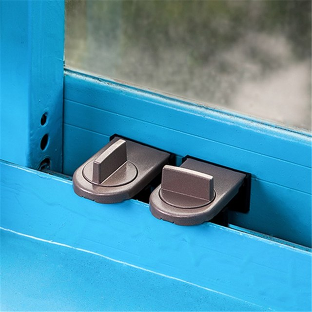 Safety Move Window Child Sash Windows Sliding Door Cabinet Locks Thick Iron Material Straps Hot Sale Straps Security
