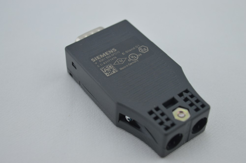 New 6GK1500-0FC10 FC BUS CONNECTOR FOR SIEMENS SIMATIC DP PROFIBUS RS485 PLUG tracer2610bp mt50 remote meter solar power bank charging regulator mppt usb pc cable for 12v 130w 24v 260w panel use 10a 10amp