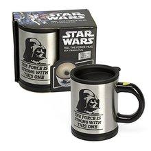 Star Wars Darth Vader automātiska kafijas tases krūzīšu rotaļlietu maisīšana Ērta un interesanta dāvana draugam vai ģimenei
