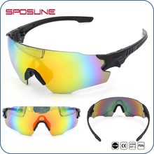 SPOSUNE Military Tactical Shooting Glasses Bulletproof Anti-UV Airsoft Hunting Ballistic Sunglasses for Men