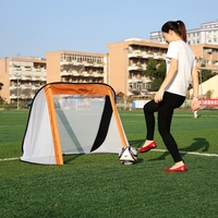 130*80*95cm Portable Soccer Goal Oxford Cloth Utility Football Soccer Goal Post Outdoor Indoor Sports Training Post Net