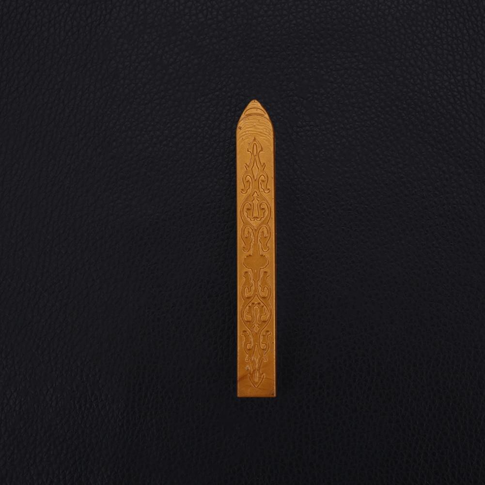 Ретро уплотнительная Восковая Палочка для штампы буквы уплотнение плавления свечи конверт пригласите - Цвет: royal gold