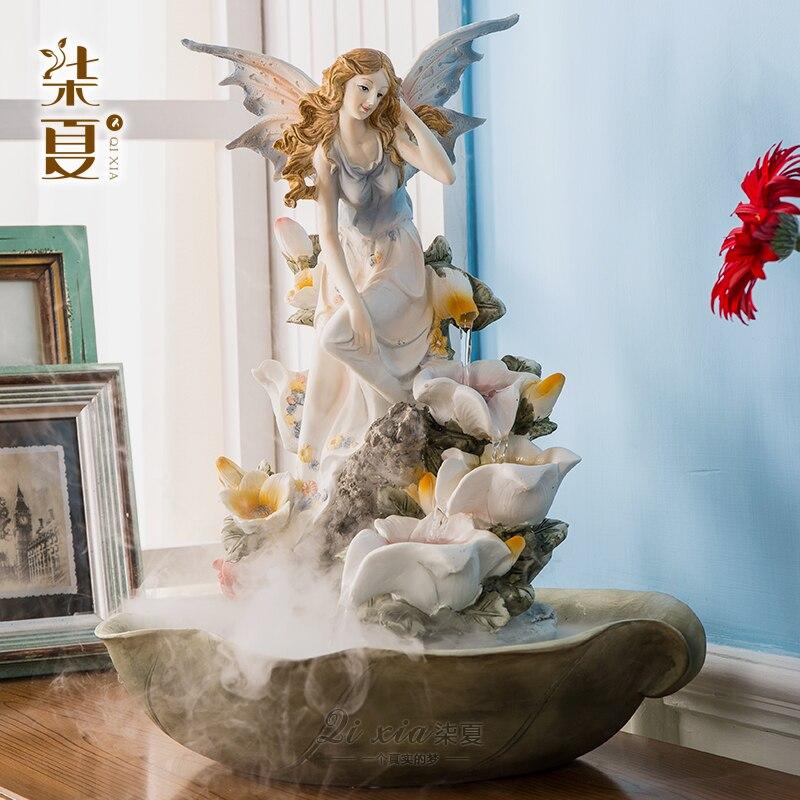 prctico regalo de boda creativo europeo mueble tv sala de decoracin fuente de agua adornos regalo