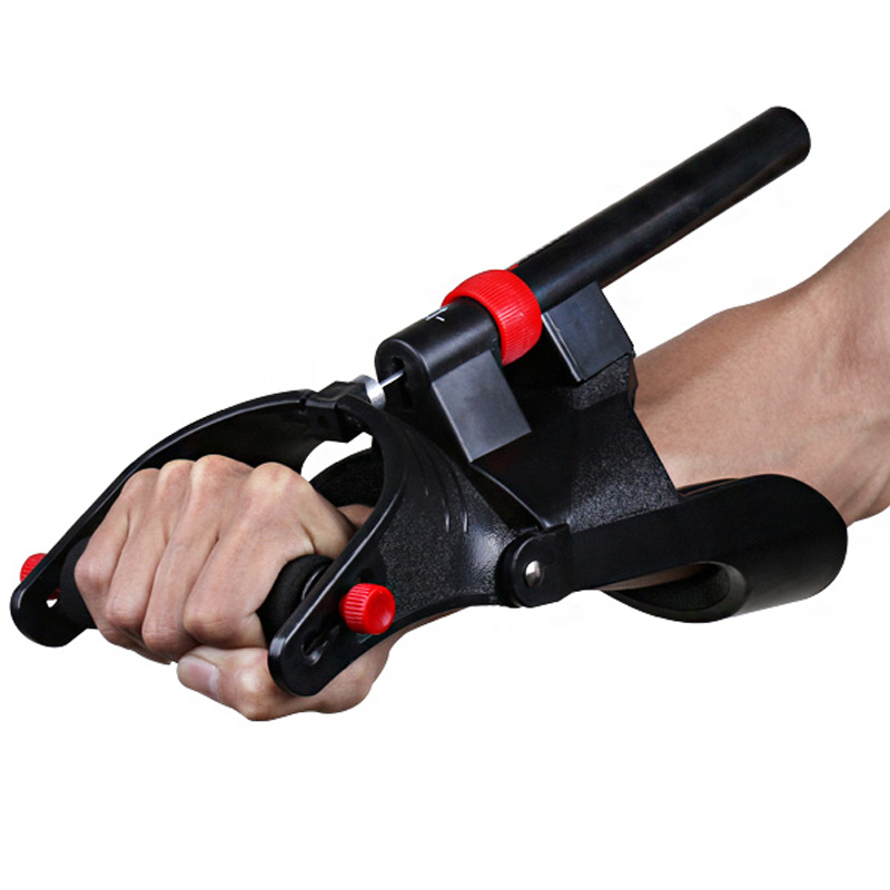 Hand Grip Exerciser Trainer Adjustable Anti-slide Hand Wrist Device Power Developer Strength Training Forearm Exercise Equipment(China)
